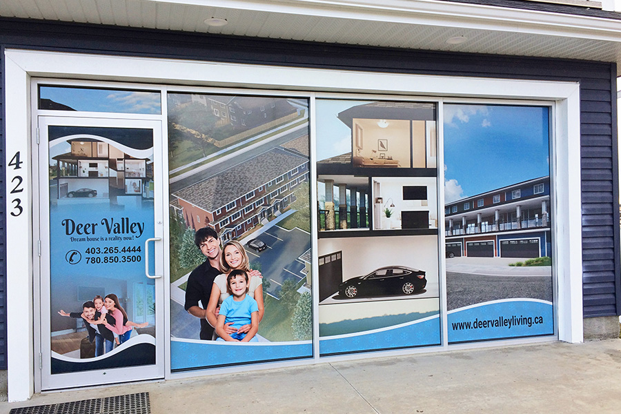 Find Your Custom Window Graphics At 3Sixty Sign Solution