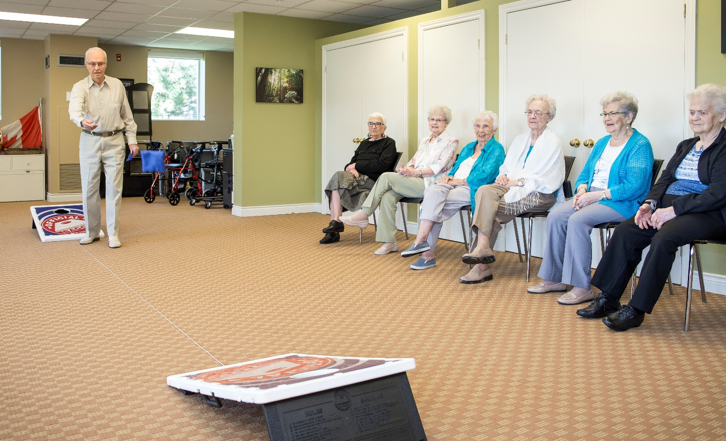 Join Senior Retirement Communities by Queens Avenue Retirement Residence